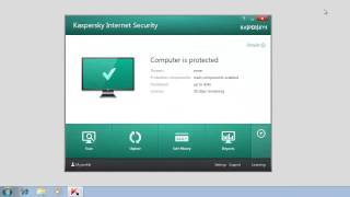 How To Activate Kaspersky Internet Security 2014 After