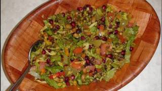 Lentil Sprout Chaat (salad) Video Recipe By Bhavna