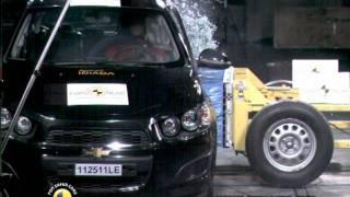 Chevrolet Aveo kaza testi - Euro NCAP 2011