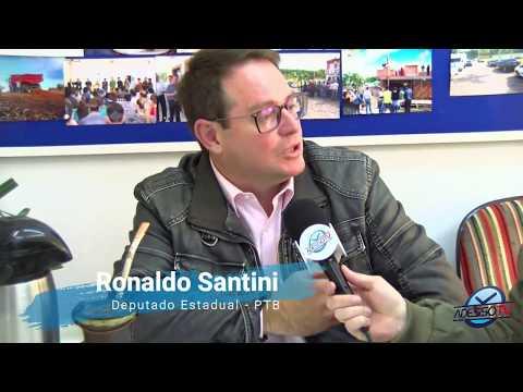 Entrevista com Dep Estadual Ronaldo Santini