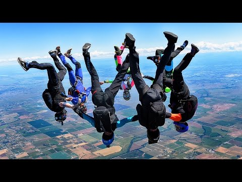 Skydiving in California - The best jumps of June 2016