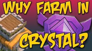 Clash Of Clans: Epic Townhall 8 Dark Elixir Farming It's