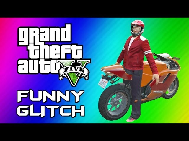 GTA 5 Mannequin Glitch - Funny Character Animation, Motorcycles & Jets (GTA 5 Online Funny Moments)