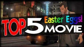 GTA 5 Top 5 Movie Easter Eggs!
