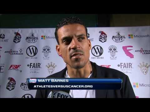 FOX Sports Interview - Art Mobb Event with Matt Barnes/Los Angeles Clippers