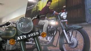 Ntr's Janatha Garage Bike Charity Action Stall at Prasad Imax