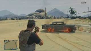 GTA V Online How To Get The Molotov! [Secret Throwing