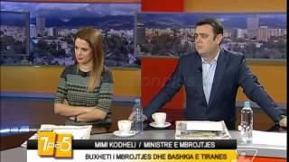 7pa5  Buxheti i mbrojtjes dhe Bashkia e Tiranes  26 Nentor 2014  Show  Vizion