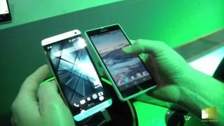 Comparativa HTC One Vs Sony Xperia Z En Español