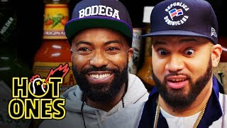 Desus and Mero Get Smacked By Spicy Wings | Hot Ones