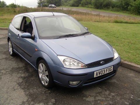 www.bennetscars.co.uk 2003 Ford Focus MP3 60k Fsh inc T/BELT £2,995