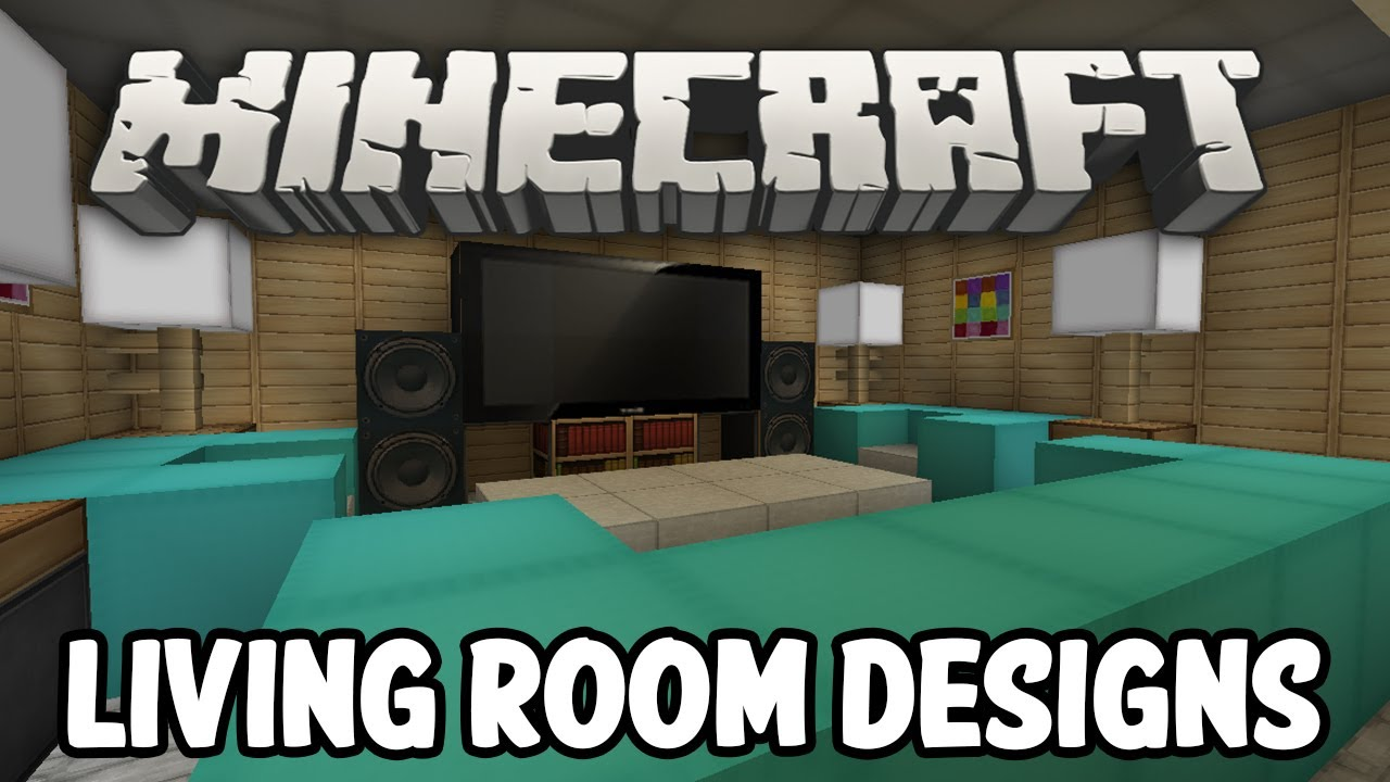 Minecraft living room designs for Minecraft interior design living room