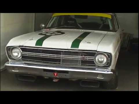falcon GT XR 1967 GOLD & SILVER GALLAHER (SURFERS) VAN