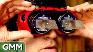 Upside Down Glasses Challenge