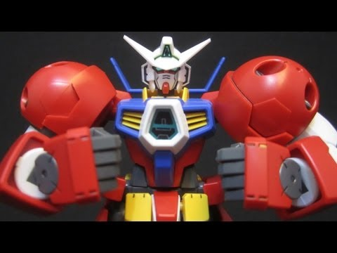 HG Gundam AGE-1 Titus (Part 1: Unbox) Gundam Age gunpla model review