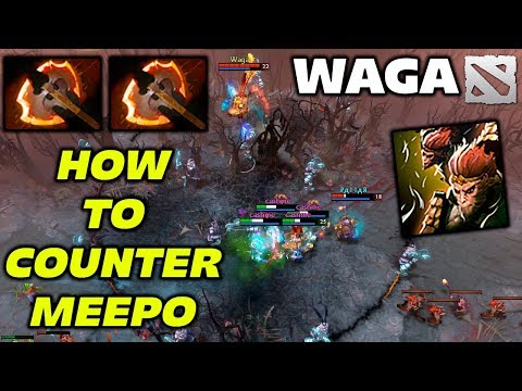 WAGA Monkey King [How to Counter MEEPO] Dota 2