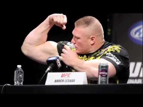 Brock Lesnar UFC 141 Press Conference