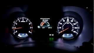 2013 Kia Optima SX 2.0 Turbo 0-60 MPH Injen Intake