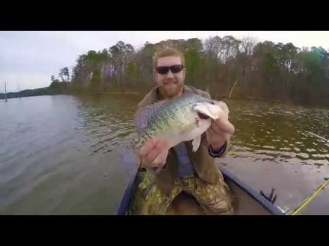 Jordan lake crappie bass for French broad river fishing