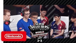 Super Smash Bros. Ultimate World Championship 2019 3v3 Finals