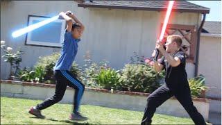 REVENGE OF THE KIDS - How Kids Play Star Wars (Parody)