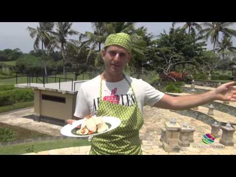 Cooking class, Pan Pacific Nirwana, Bali