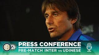 INTER vs UDINESE | Antonio Conte Pre-Match Press Conference LIVE 🎙⚫🔵?? [SUB ENG]