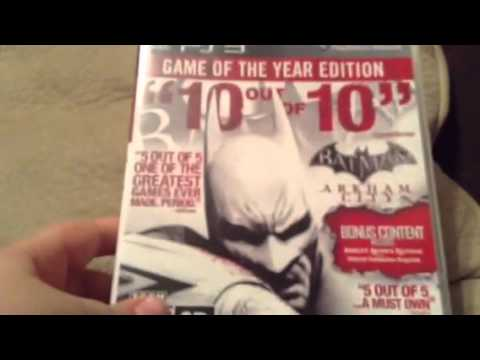 Batman arkham city game of the year edition future Lets play
