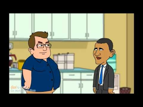 Obama visits the Epic Fat Dude!