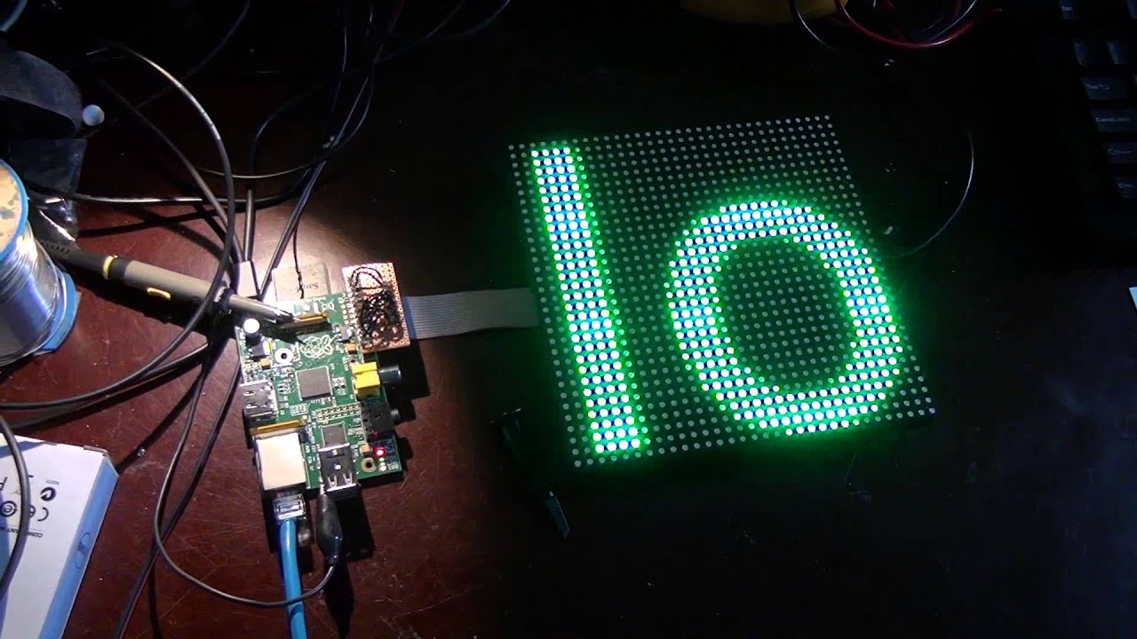 Controlling An Rgb Led With The Raspberry Pi Auto Electrical Tutorial Using Arduino Rgbl Example Circuit 32x32 Matrix
