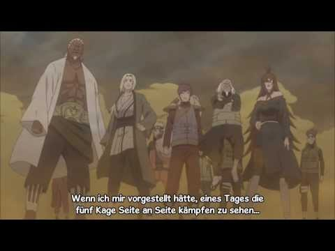 Naruto Shippuuden AMV - 5 Kage vs. Madara
