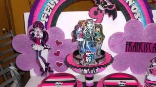 Las Mas Bonitas Tortas De Monster High