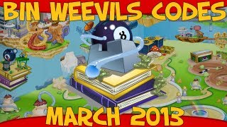 Bin Weevils Codes For Mulch, XP, Nest Items, Graden