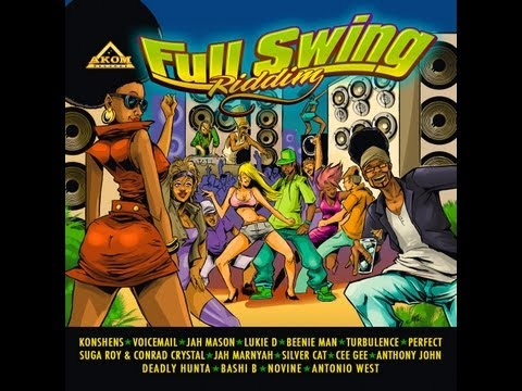 FULL SWING RIDDIM MIX - AKOM RECORDS 2012