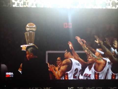 Miami Heat NBA Champions 2014 ThreePeat Complete!!