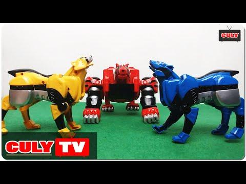 Robot siêu nhân mãnh thú Gekiranger đồ chơi trẻ em - animal power rangers kid toy for childrens