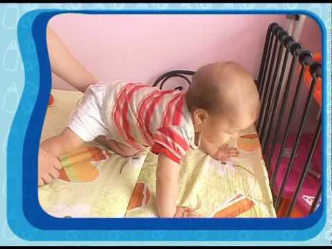 Gimnastica bebelusului pana la varsta de 1 an