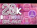 20K Birthday Giveaway 12 Hour Livestream Sims 4 More