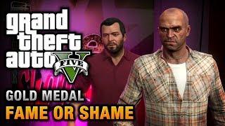 GTA 5 Mission #22 Fame Or Shame [100% Gold Medal