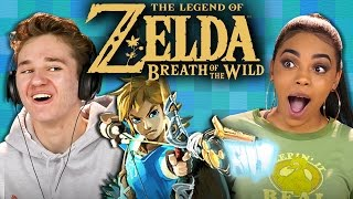 THE LEGEND OF ZELDA: BREATH OF THE WILD (Teens React: Gaming)