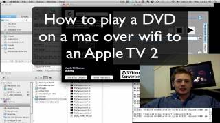How To Play DVDs On Apple TV 2 From Your Mac DVD Drive