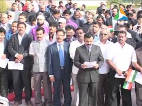 indian republic day celebration, Riyadh, 26 01 2014, Middle East Edition News, Jaihind TV