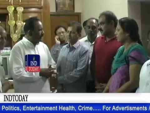 Beas victims parents meet Telangana Home Minister Nayani, demand justice | indtoday.com