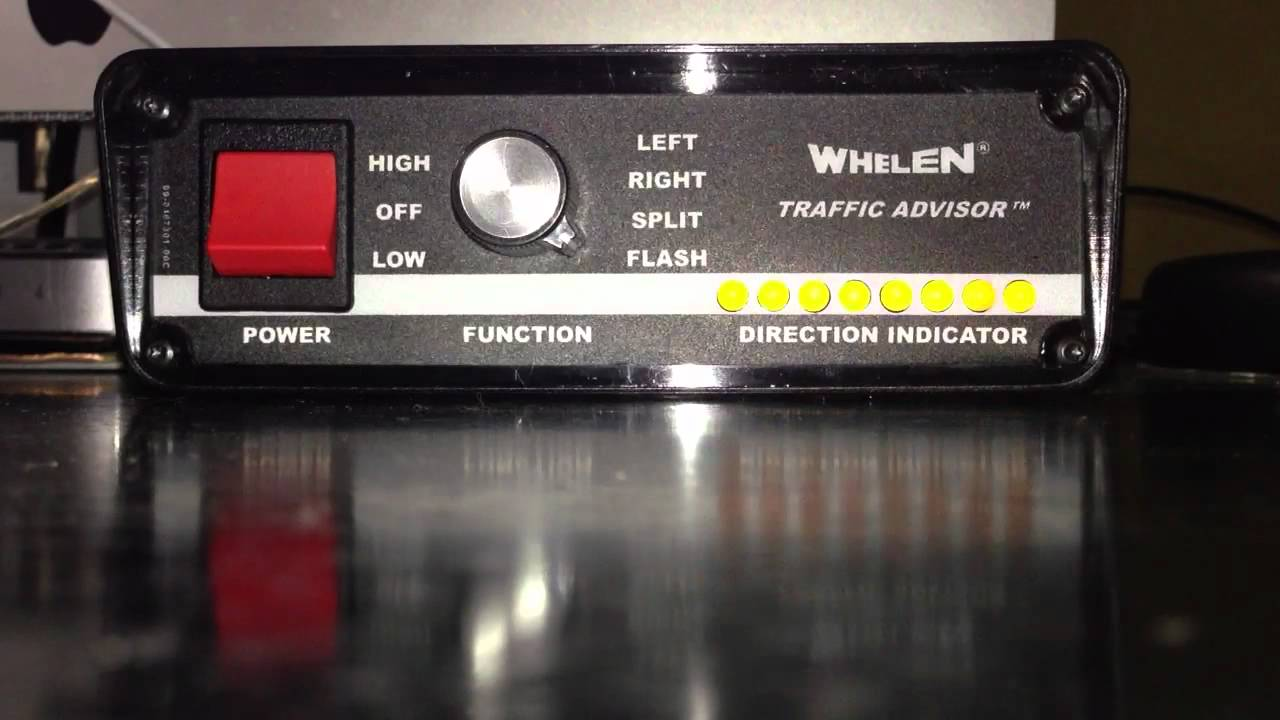Whelen Tactld1 Traffic Advisor Controller Demo