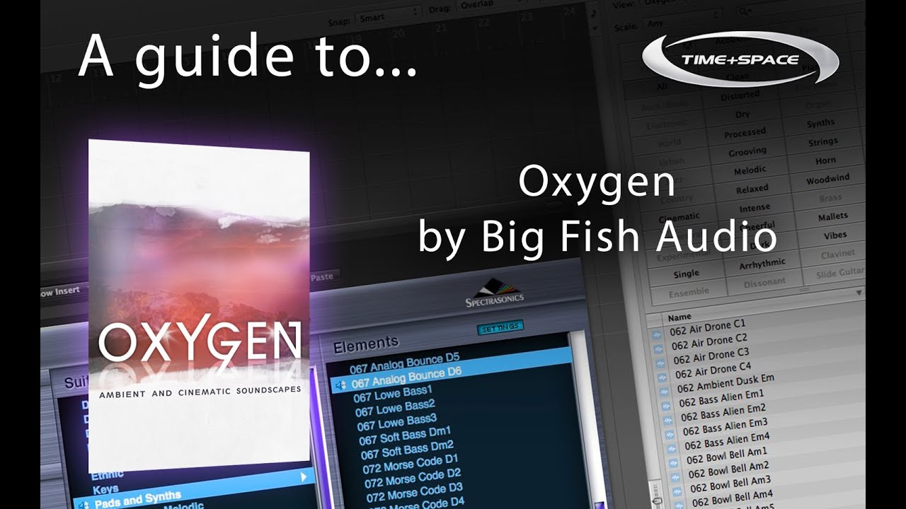 Big fish audio oxygen sample library youtube for Big fish audio