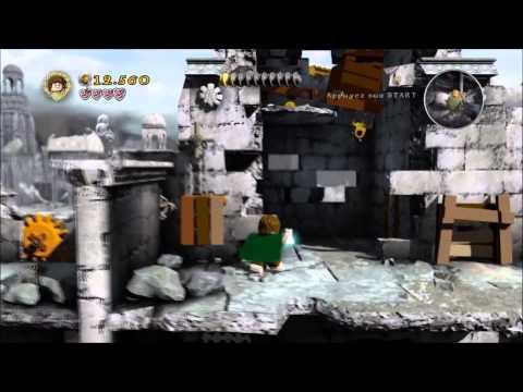 Lego Seigneur des anneaux , l'attaque des Ents
