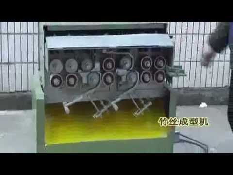 Round bamboo incense stick cutting splitting slicing machine