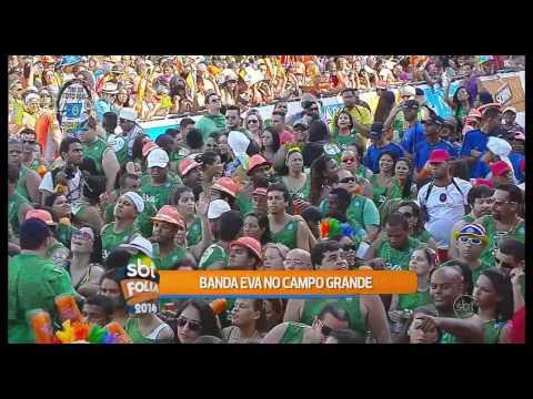 Banda Eva canta Arerê no circuito Campo Grande