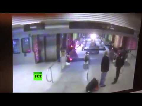 Train crash at Chicago O'Hare international airport