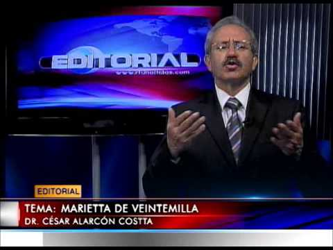 Editorial RTU Noticias 11/03/2014 Tema: Marieta de Veintimilla